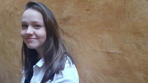 Caroline Skov er 15 år og går på Trørødskolen. (Foto: MDS)