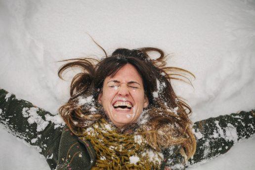 Så skal der laves sneengle! (Foto: All Over)