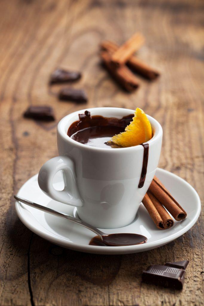 Varm kakao-orangekakao