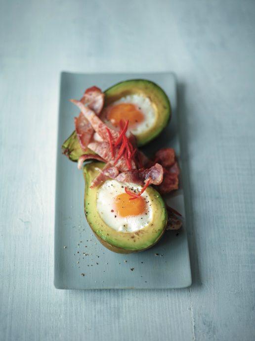 avocado og æg
