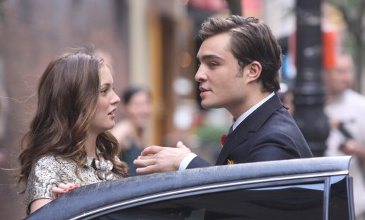Blair og Chuck fra tv-serien Gossip girl (Foto:alloverpress)
