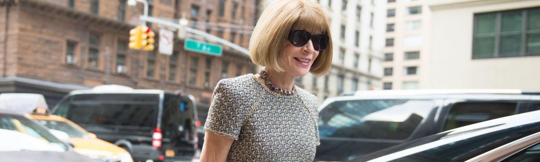 Anna Wintour går i New Yorks gader i 2016 (Foto: All Over)