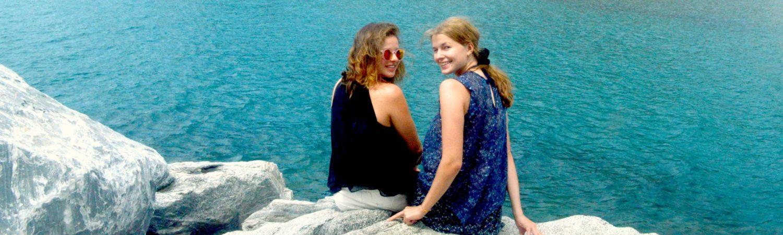 Katrine og Carole (Foto: Privat)