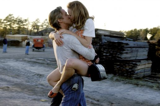 Ryan Gosling og Rachel McAdams i The Notebook