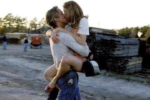 Ryan Gosling og Rachel McAdams i The Notebook