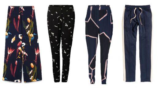 Løse bukser collage