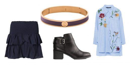 Tøj, sko, accessories til januar fund og outfit under 300 kroner