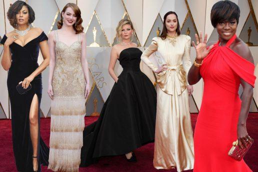 Bedst og værst klædte Oscars 2017, kjoler. (Foto: All Over)