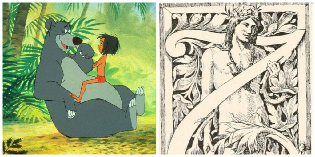disney, eventyr, disneyfilm, disneyeventyr, junglebogen, jungle book, rudyard kipling, mowgli, bagheera, shera khan, ballo, død, ødelæggelse, ild