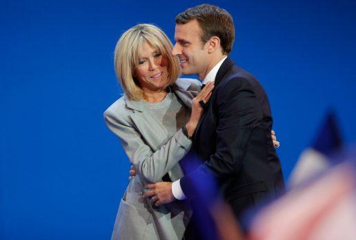 Emmanuel Macron, brigitte macron, frankrig, præsidentvalg, præsidentkandidat, politik, indland, udland, kærlighed, aldersforskel, ældre kvinde, yngre mand, parforhold,