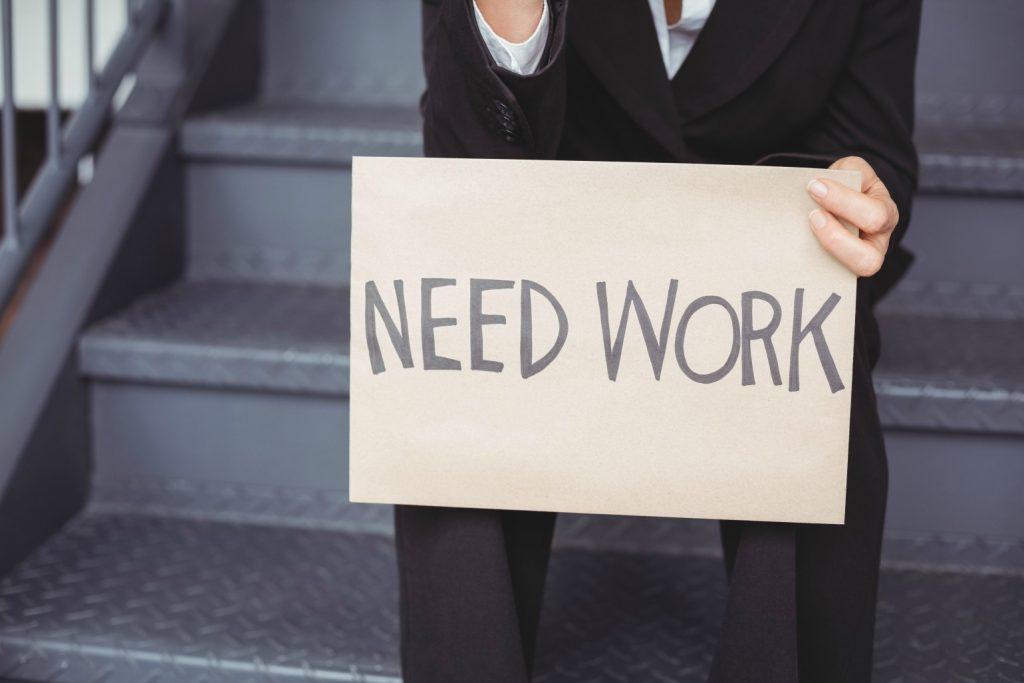 need work arbejdsløs arbejde job