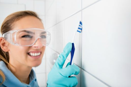 rengøring, badeværelse, gøre rent, tandbørste, vaske, hygiejne