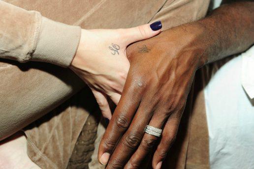 khloe kardashian lamar odom matchende tatoveringer tattoos hænder hånd