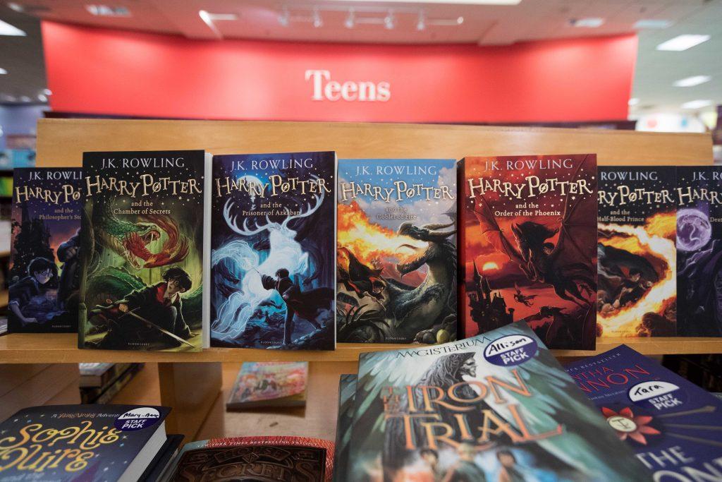 harry potter-bøger, harry potter, bøger, books