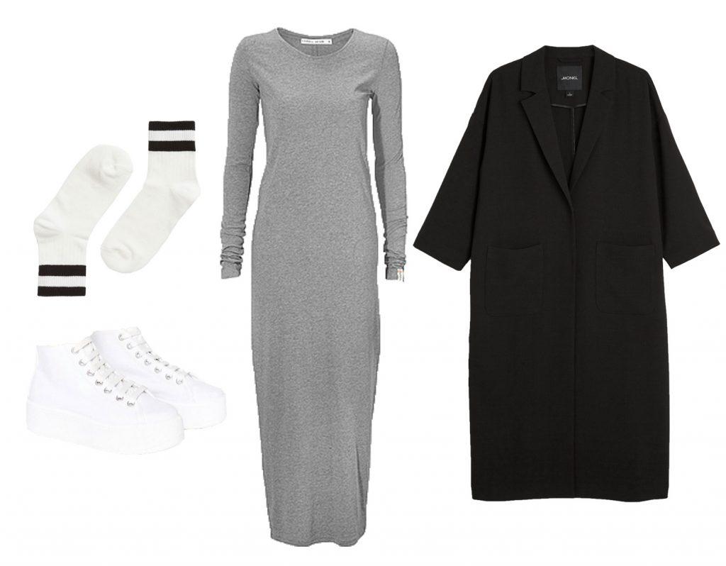 grå-kjole stjæl stilen sana skam
