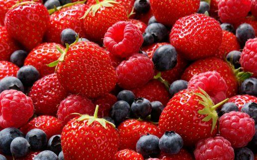 bær, jordbær, hindbær, solbær, brombær, grugt, sundhed, mad, marmelade, syltetøj, den gamle fabrik, afstemning, nationalbær, danmark, danskere, mad, sundhed,