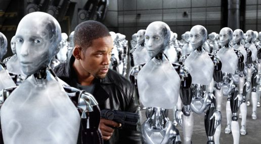 robot, robotter, ai, artificial inteliggence, kunstig intelligens, udvikling, teknologi, will smith, i robot, film, data, hjernen, sprog, sproudvikling, computersprog