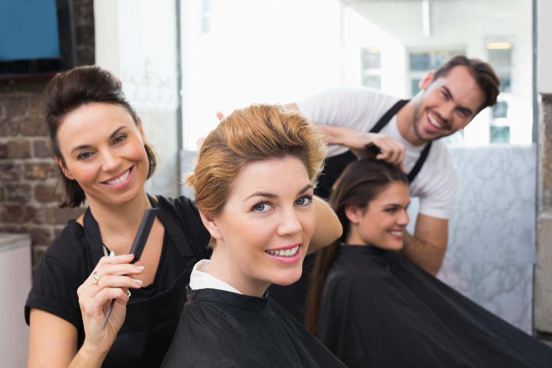 frisør, haircut, kort hår, shampoo