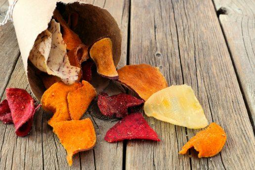 rodfrugtchips, rodfrugt, rodfrugter, kartoffelchips, chips, kartofler, snack, snacks, sundhed, mad, kost, diæt, vægttab, myter, sundhed