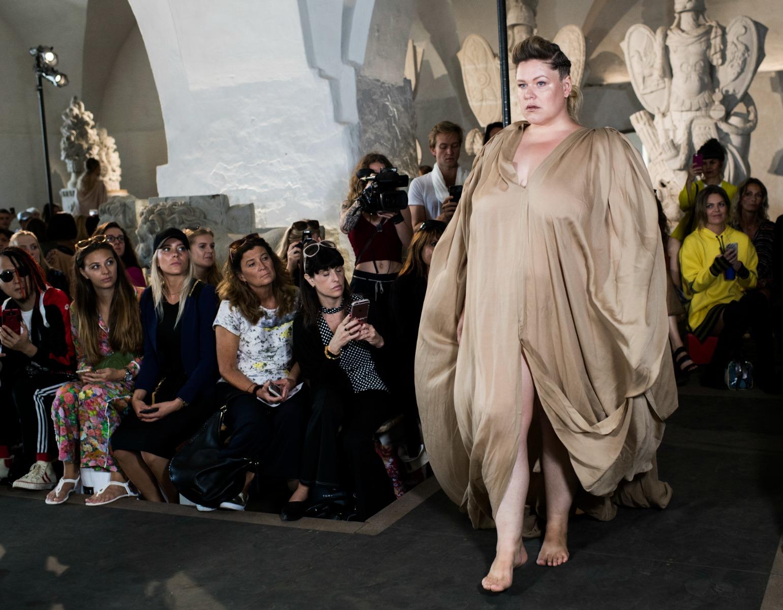 ditte vallø, plus size, plus size-smykker, model, nicholas nybro, modeuge, copenhagen fashion week, ss18
