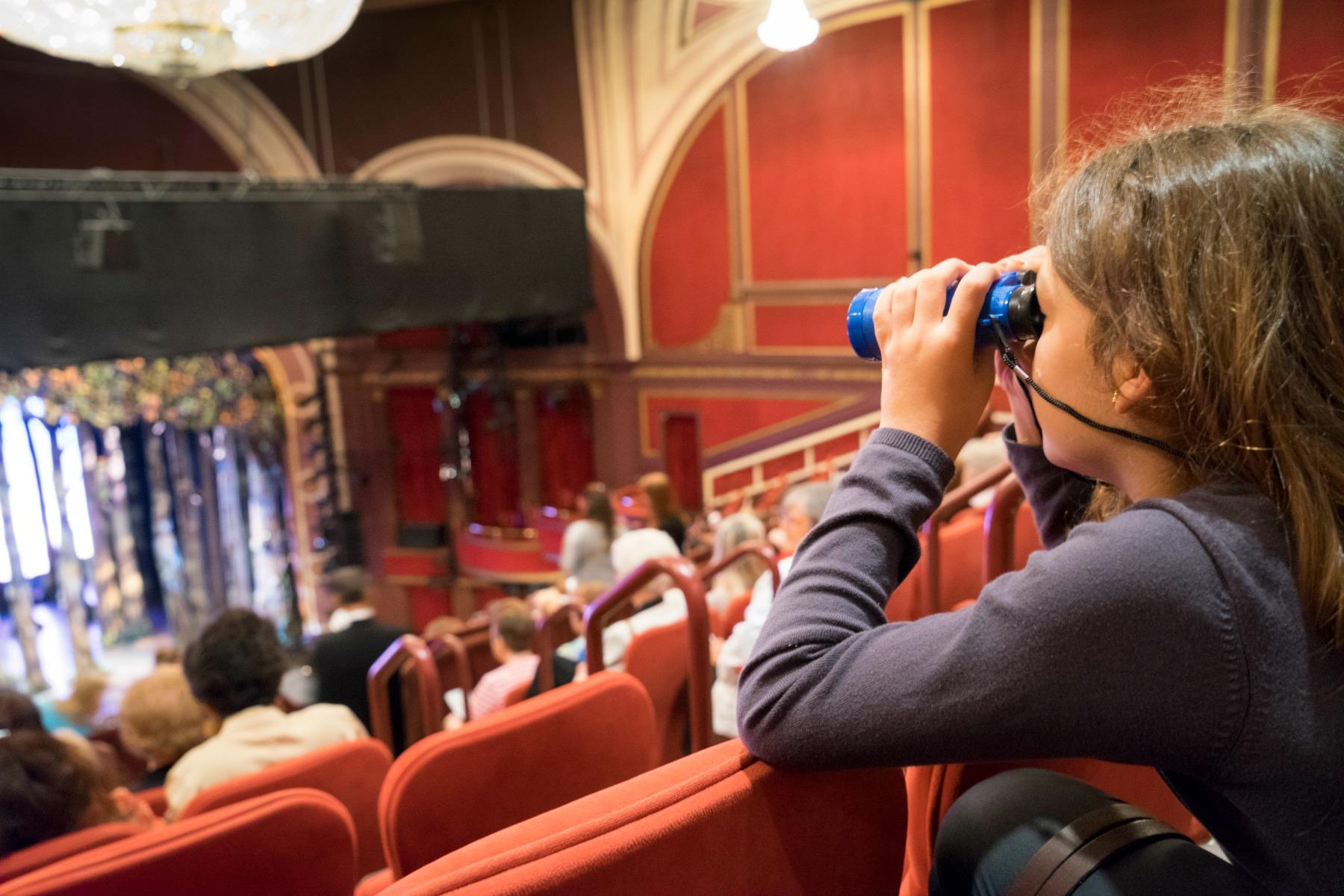 teater, musical, kultur, pige,