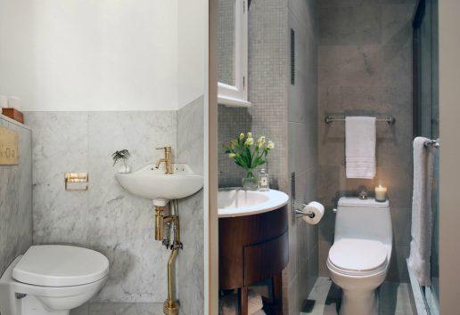 houzz lille badeværelse