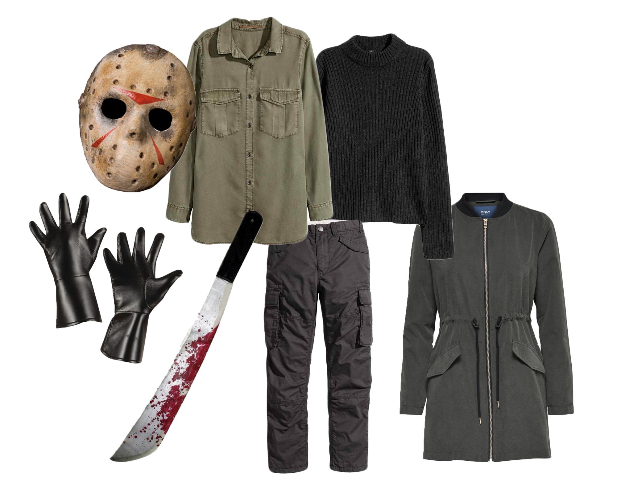 jason, fredag d 13, udklædning, uhygge, klæde ud, skræmmende, creepy, halloween, kostume, halloweenkostume