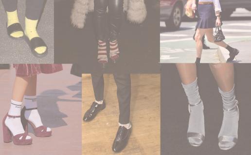 sokker, trend, efterår, sandaler, sneakers, støvler, stiletter