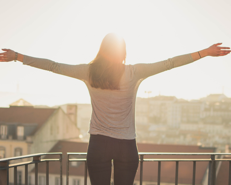 unik, vaner, pige, anderledes, gør mindre, positiv, liv, glæde, positivisme
