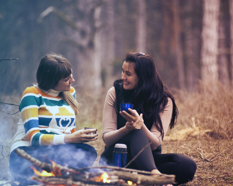 veninder, skoven, livet, livsglæde, glæde, positiv, vane, vaner, rutiner