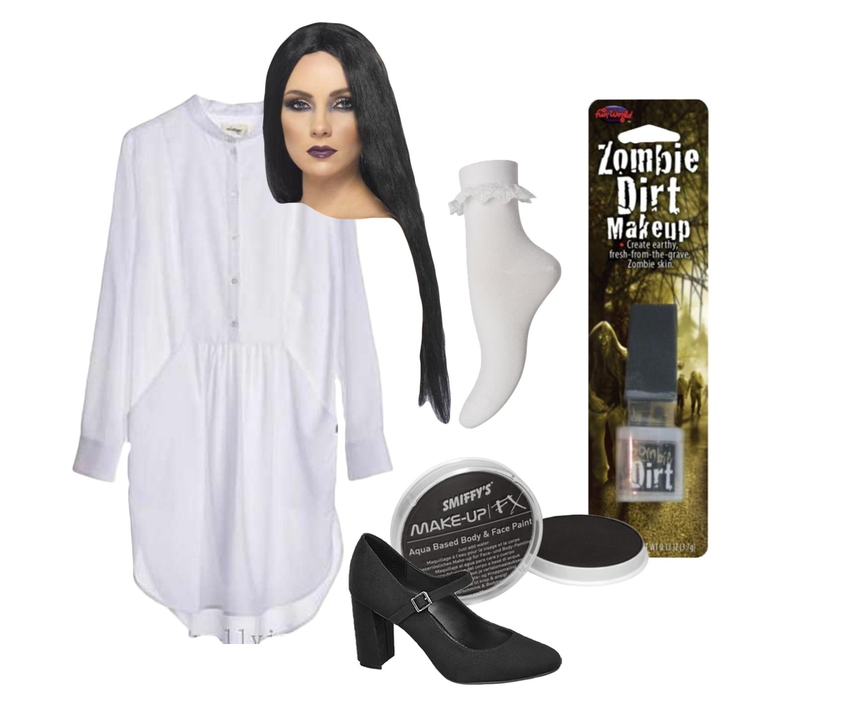 kostume, udklædning, uhygge, uhyggelig, halloween, halloweenkostume