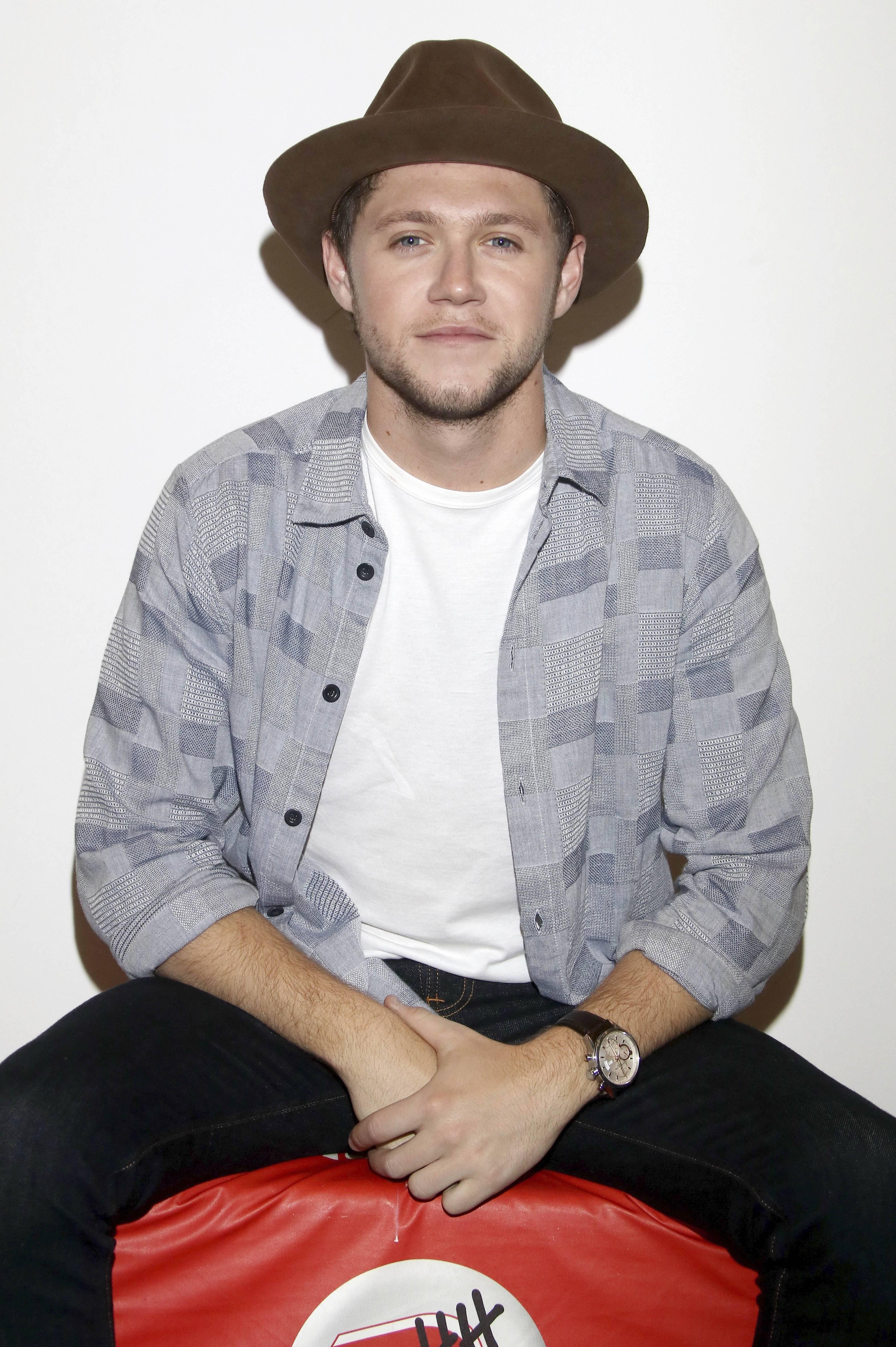 One Direction, Niall Horan på besøg på den tyske radiostation Radio Hamburg. (Foto: All Over)