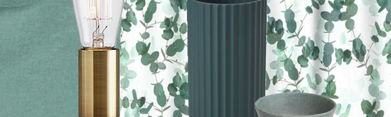 efterårsmode, boligindretning, interiør, bolig, indretning, gørn, nordly, nuancer, rustikt, metal, natur, planter, blomster, motiver, mønster, blågrønne, matte farver