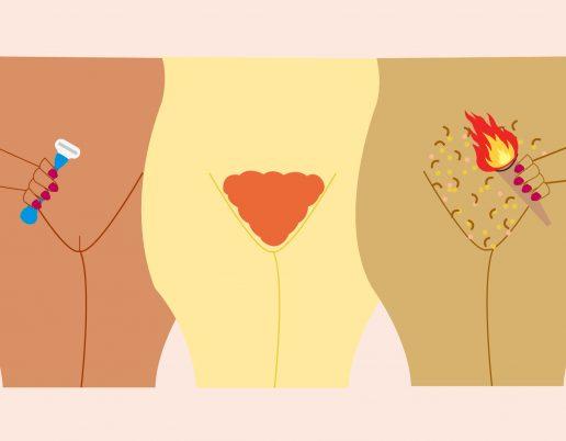 dusktrend, trend, kvinders kønsbehåringstrend, kvinders kønshår, behåring, kønshår, hår, vagina, skede, tissekone, tidslinje, kønshår gennem tiden