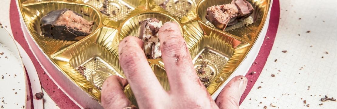 chokolade, cravings, snacks, hyggespining, menstruation