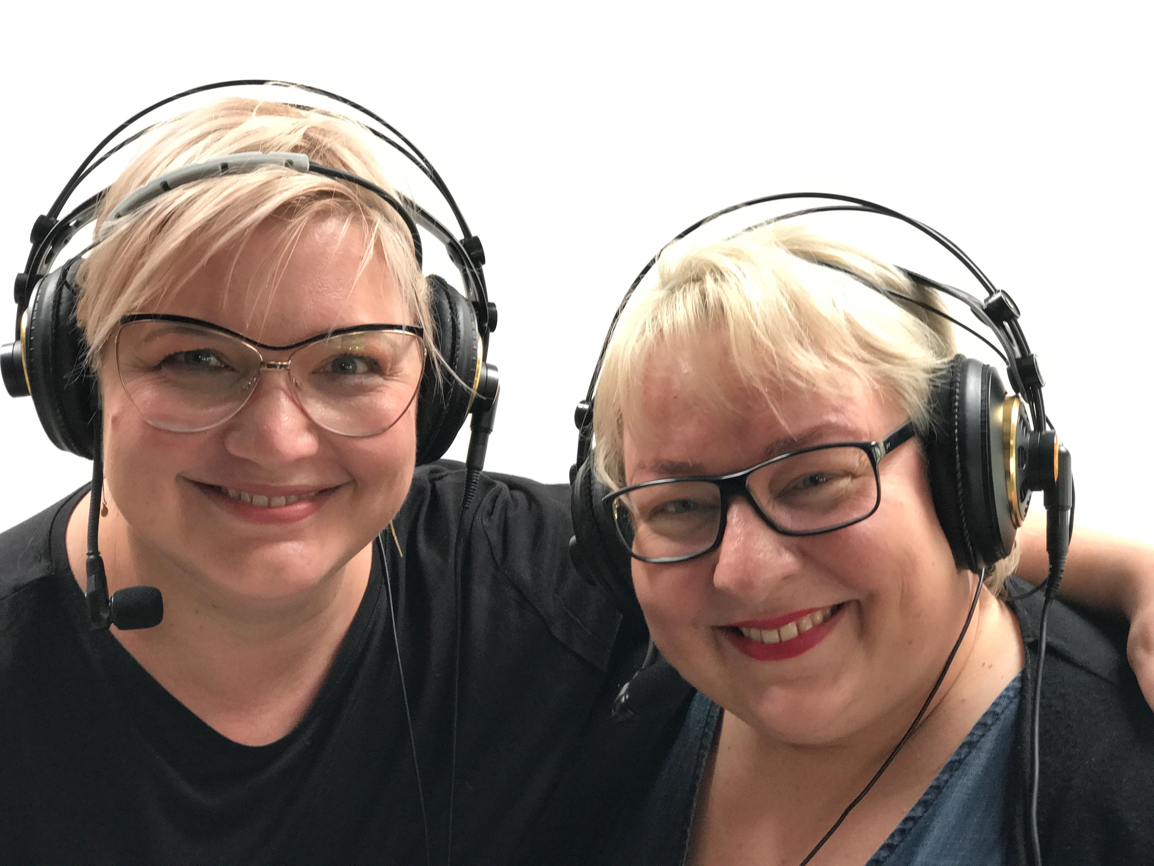 Katja og Helene er en efterhånden meget velkendt beauty-duo. (Foto: Pudderdåserne)