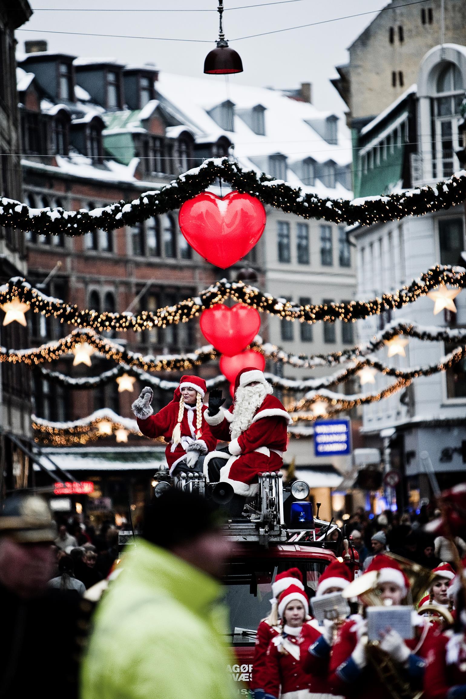 Optog i forbindelse med at juletræet blev tændt. (Foto: /ritzau/)