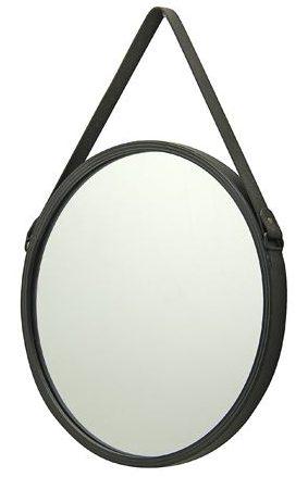 spejl, imiteret læder, sort, notre dame, interiør, efterårsmode, mode