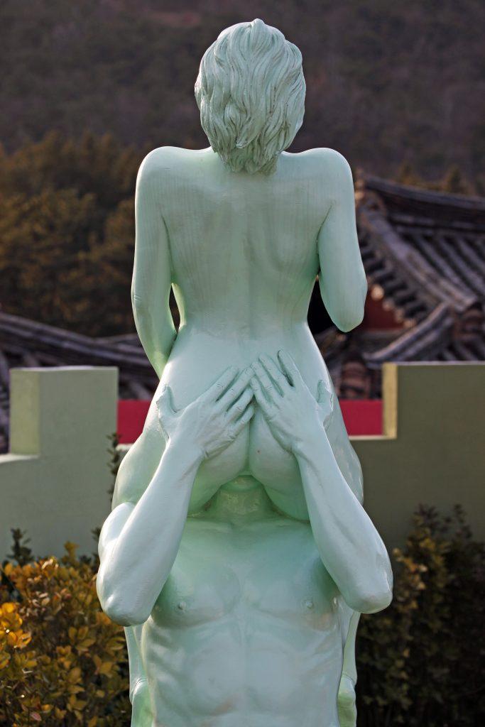 """Kunstværk kaldet """"Ecstasy"""", der står udstillet på sexmuseet Love Castle i Sydkorea. (Foto: All Over)"""