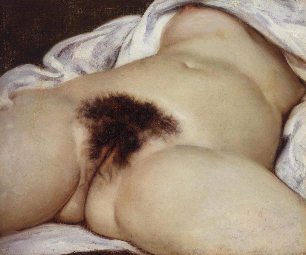vulva, vagina, skede. Maleri af Gustave Courbet fra 1866. Titlen er L'origine du monde (verdens oprindelse). (Foto: All Over)