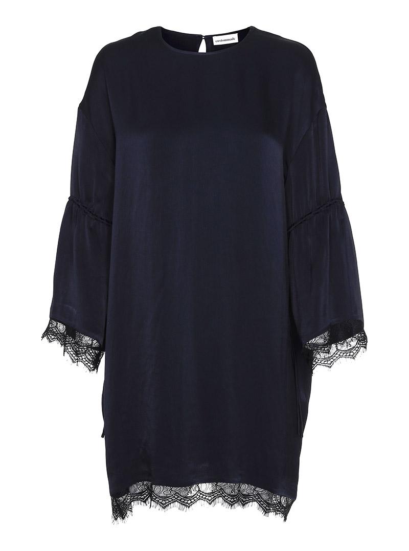 custommade sort kjole