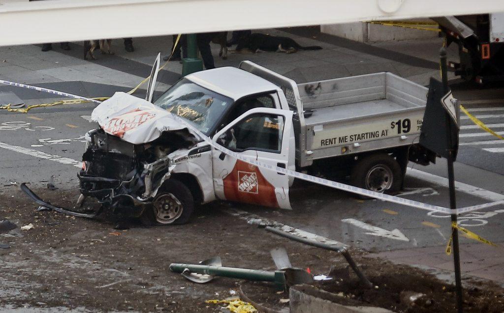 new york, terror, lastbil, truck, terrorangreb, døde, sårede, is, usa, amerika, terrorist, gerningsmand, ofre
