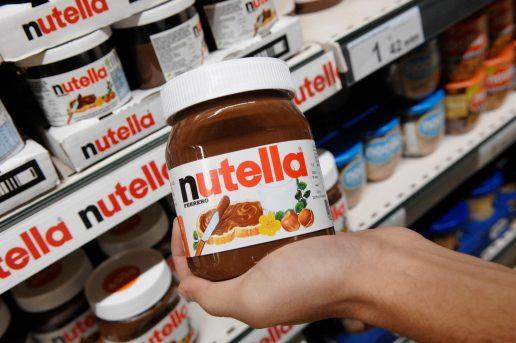 nutella, opskrift, ferrero, kritik, smag, farve, skummetmælkspulver, farve, smag, smørepålæg, chokolade