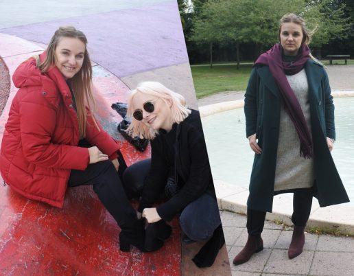 Cathrine Egelund styler vores Camilla i vintermodelooks fra ellos. (Foto: Benedikte Brix)