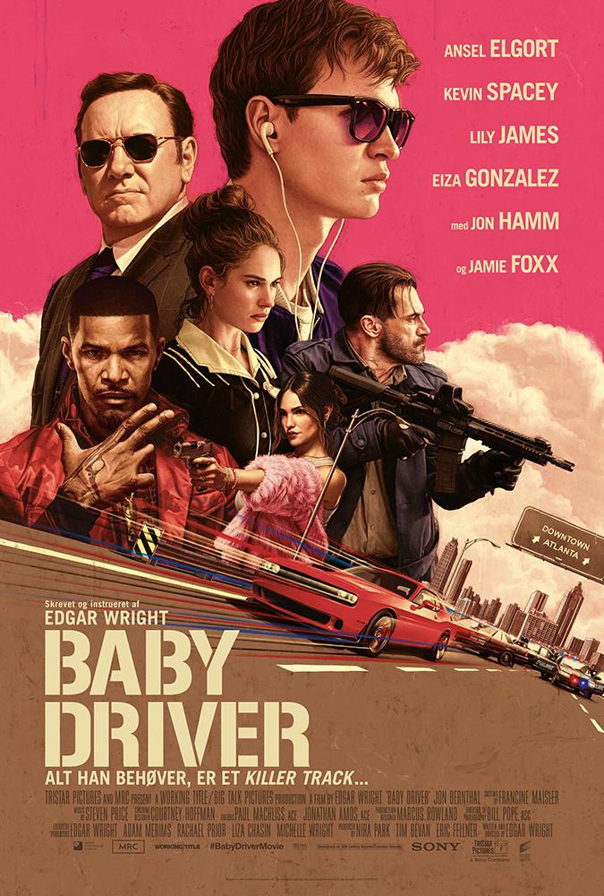 bedste film i 2017, babydriver, love, movie, night, hygge, bedstefilm