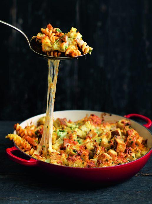 julie zangenberg pasta og skinke