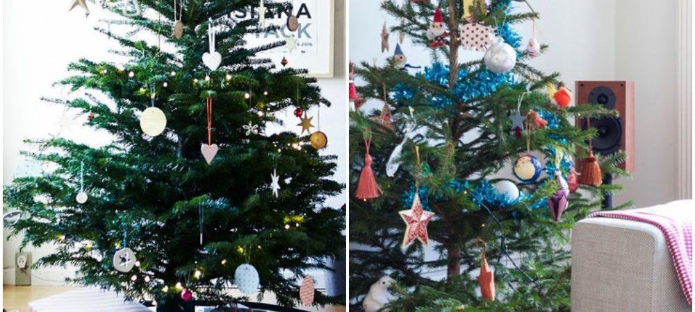 houzz træ indretning jul