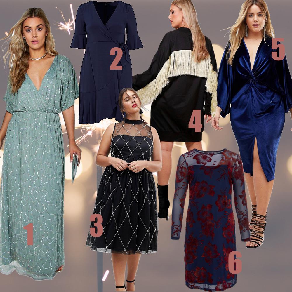 nytårskjoler, kjoler, festkjoler, nytår 2018