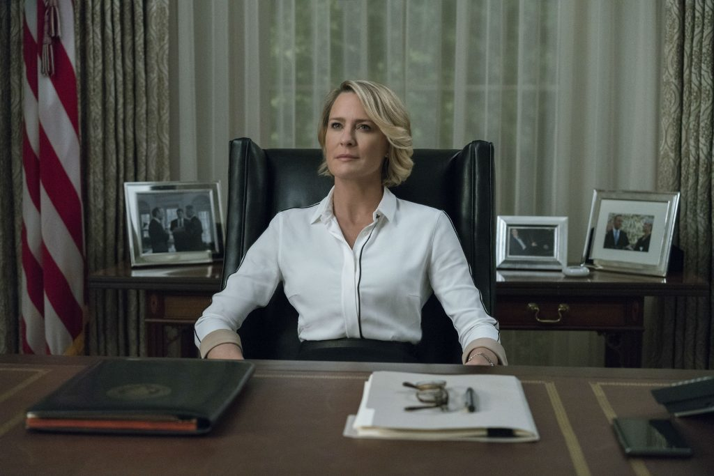 robin wright, clairre underwood, kevin spacey, frank underwood, netflix, hourse of cards, sex, anklager, sexchikane, sexanklager, netflix