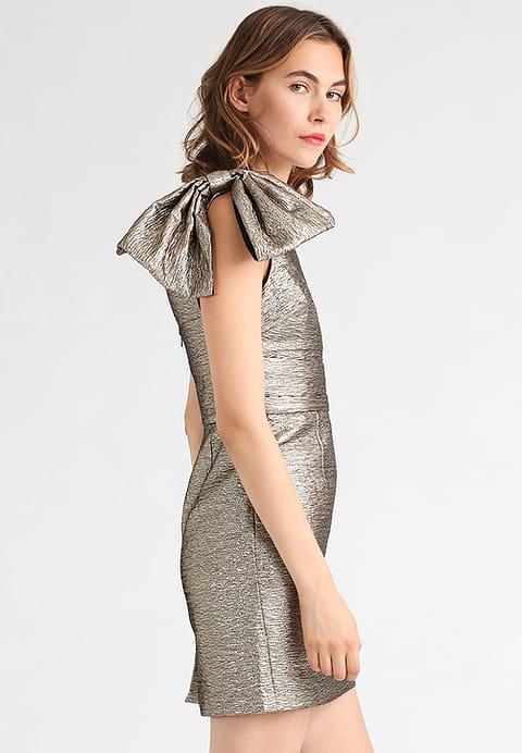 guldkjole, kjole, tøj, mode, styleguide, trends, 80'er,